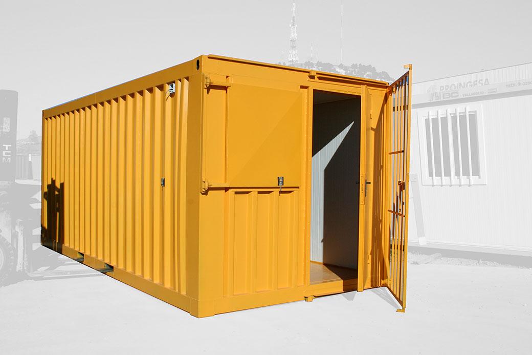 Oficina container blindada y aislada BC