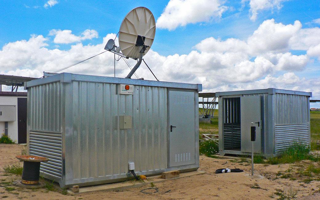 Instalación en huerto solar de módulos sin aislar