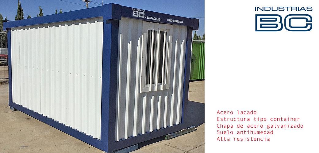 Modulo container sin aislar antihumedad BC