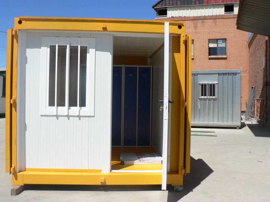 Módulo container blindado aislado oficina BC interior