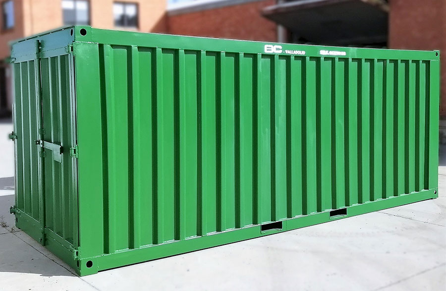 Contenedor almacén tipo container BC