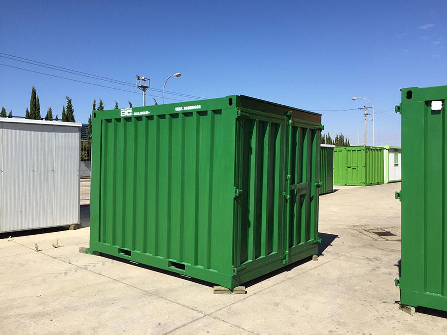Contenedor almacén pequeño Industrias BC tipo container