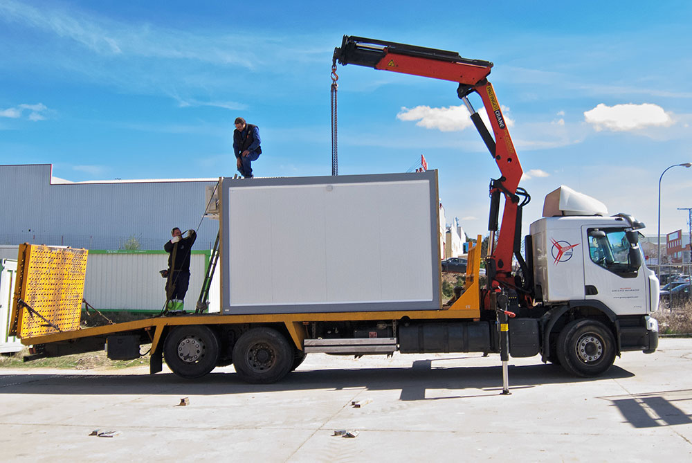 Transporte e instalación listo para usar